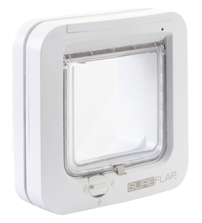 SureFlap Mikrochip Katzenklappe DE | Katzenklappe mit Chip